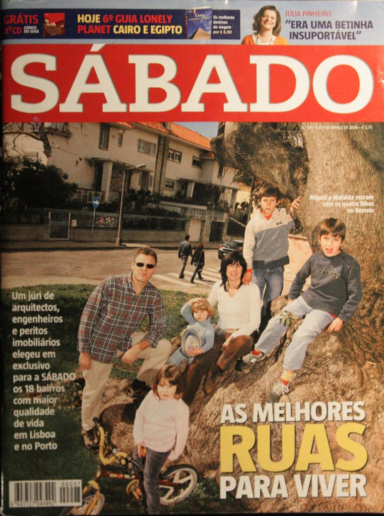 CAPA REVISTA SABADO_AS MELHORES RUAS PARA VIVER
